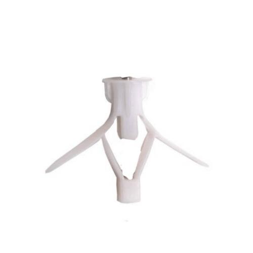 FIX-XY พุกยิมซั่ม เบอร์10 (20ชิ้น/แพ็ค) EN-016-L สีขาว