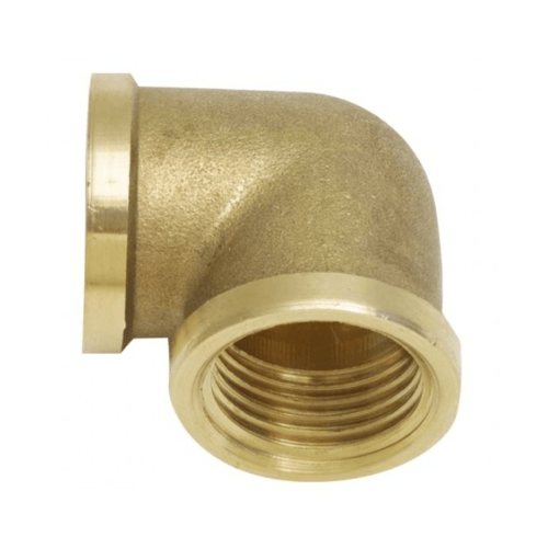 VAVO ข้องอทองเหลือง มม. 1/2 นิ้ว YF-5005 สีทอง
