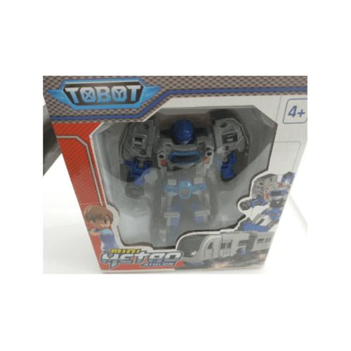 Sanook&Toys  หุ่นยนต์  Shape-shifting 298355 สีเทาอ่อน