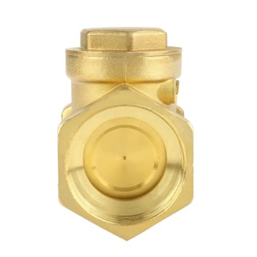 VAVO เช็ควาล์วทองเหลือง 3/4  นิ้ว  YF-4055  สีทอง