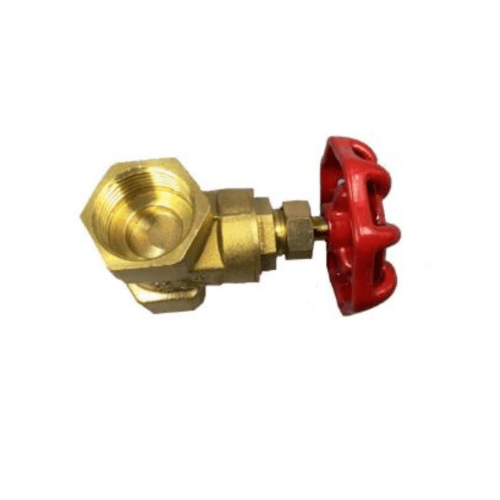 VAVO ประตูน้ำทองเหลือง 3 นิ้ว YF-4056-8 สีทอง