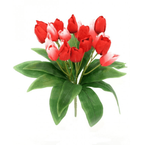 Tree O ดอกไม้ประดิษฐ์ตกแต่ง ZDX004 สีแดง