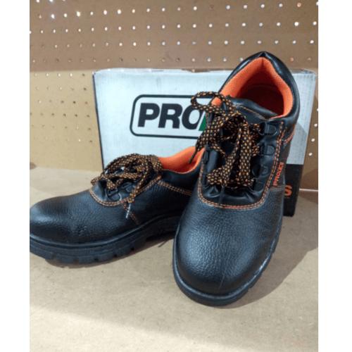 Protx รองเท้าเซฟตี้ พื้นเหล็ก  เบอร์ 39 PW106 สีดำ