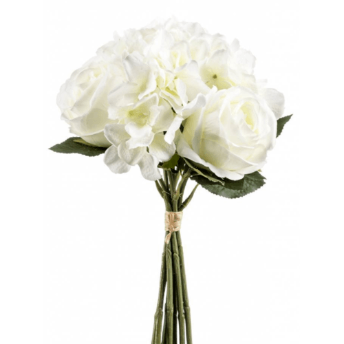 Tree O ดอกไม้ประดิษฐ์ตกแต่ง LL-014 สีขาว