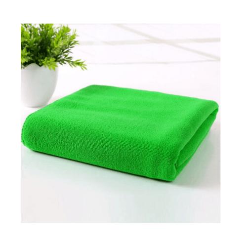 COZY  ผ้าขนหนูไมโครไฟเบอร์ 30x30ซม. BQ014-FGN  สีเขียว