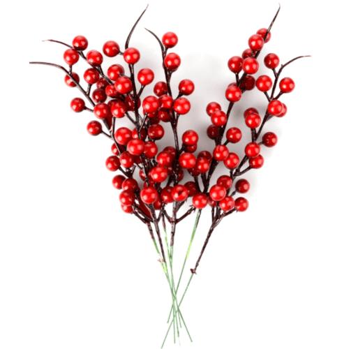 Local ดอกไม้ประดิษฐ์ตกแต่ง 1x100x1cm.  9910-RD สีส้ม