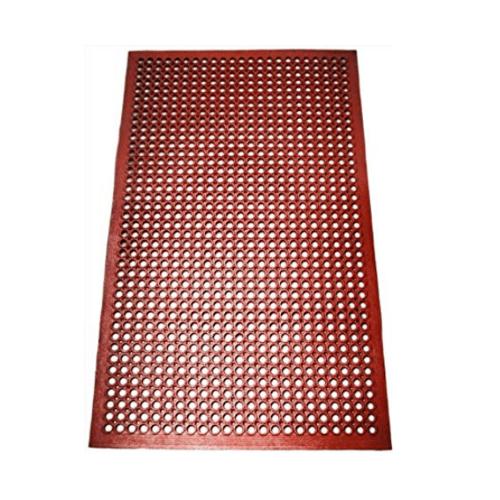 COZY พรมกันลื่นระบายน้ำ 35x68x0.5cm  JM022  สีกากี
