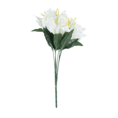 Tree O ดอกไม้ประดิษฐ์ตกแต่ง ZDX002 สีขาว