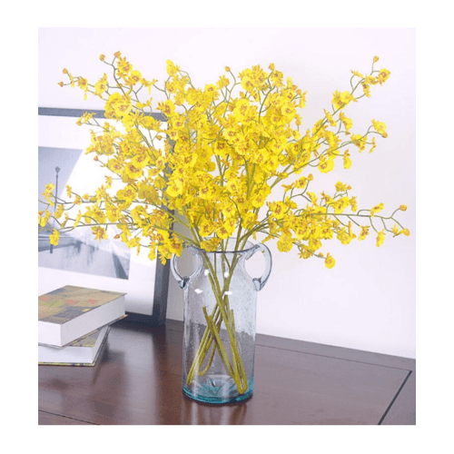 Tree O  ดอกไม้ประดิษฐ์ตกแต่ง HB012 สีเหลือง