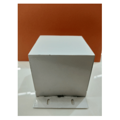 V.E.G ข้อต่อโคมไฟแขวนเพดาน 2 ทาง ตัวตรง  - สีขาว