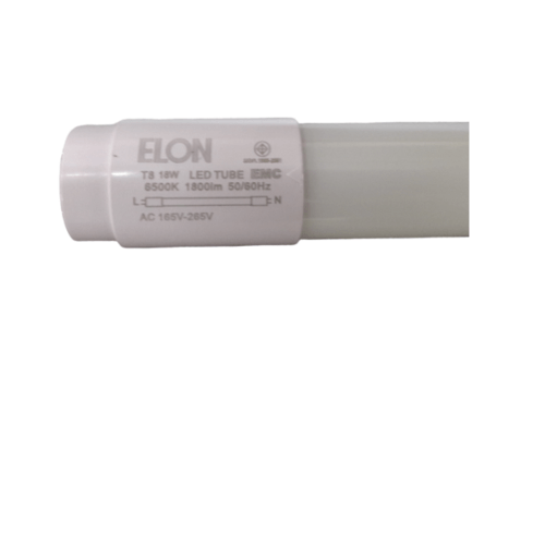 ELON หลอดไฟ LED Glass-T8 สีขาว