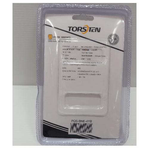 TORSTEN  กันชนประตูแม่เหล็ก PQS-BNE-4YB  สีทองเหลืองรมดำ