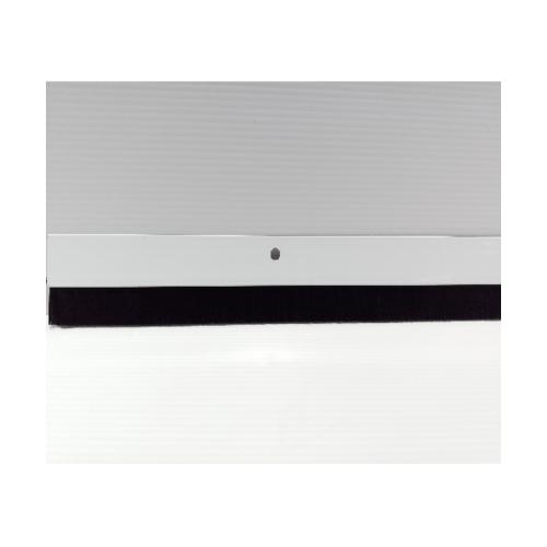 BIGROW  เส้นกันแมลงอะลูมิเนียม แถบขนแปรง 80ซม.  KZT009-WH สีขาว