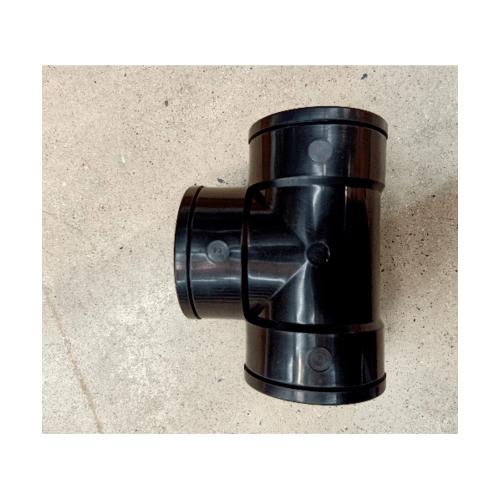 สามบ้าน สามทางเชื่อม HDPE HDPE ขนาด 2.1/2 (75มม.)PN12.5 สีดำ