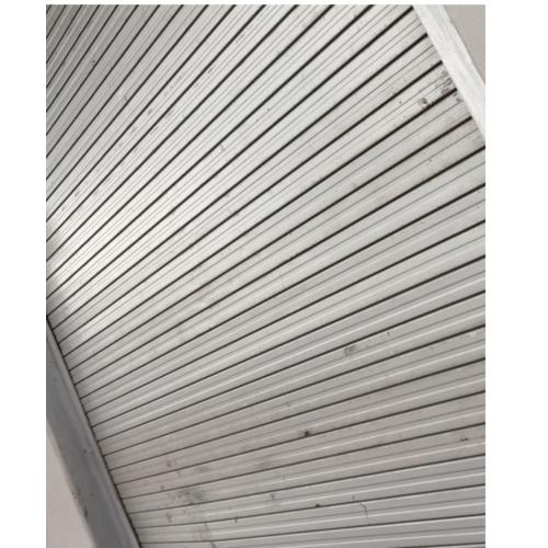 Wellingtan ประตูอลูมิเนียมม้วน พร้อมชุดมอร์เตอร์  ขนาด  720x530mm. สีเงิน