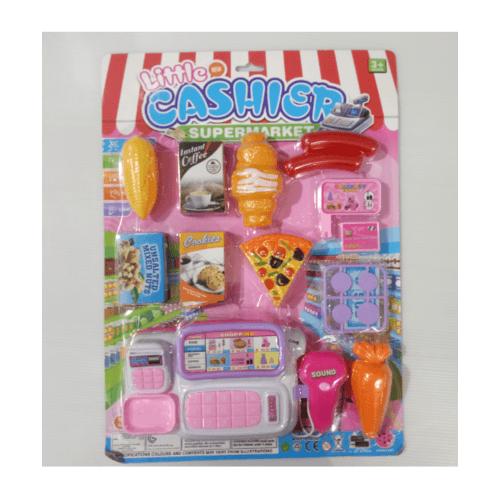 Sanook&Toys ชุดซุปเปอร์มาร์เก็ต 298794 สีชมพู