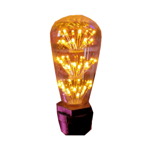 EILON หลอดไฟเอดิสัน ขนาด 6.4x6.4x14.3 cm. ST64 GY-45
