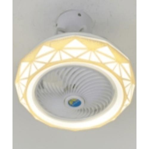 EILON โคมไฟพัดลมเชิ้นพดาน ZW-0028 สีขาว