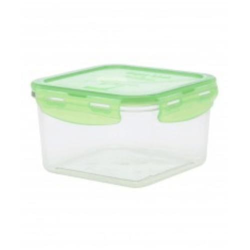 USUPSO กล่องอาหารทรงสี่เหลี่ยม 1100 มล. - สีขาว