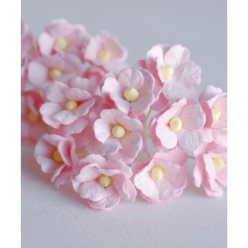 Local  ดอกไม้ประดิษฐ์ตกแต่ง  1x40x1cm. 82244-PK สีชมพู