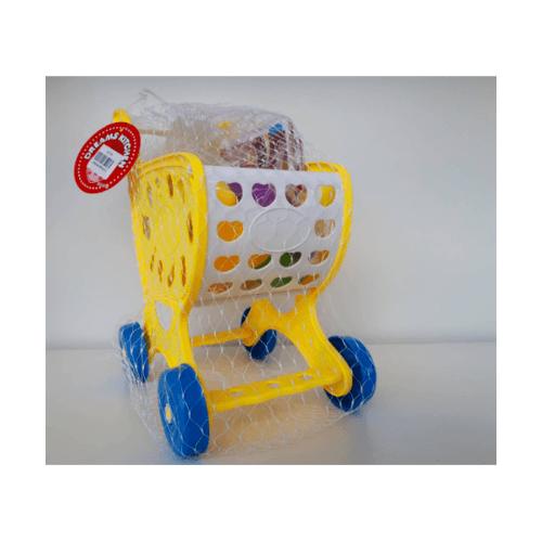 Sanook&Toys รถเข็นช้อปปิ้งเด็ก 296386 สีเหลือง