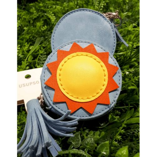 USUPSO กระเป๋าเงินใส่เหรียญ - สีฟ้าเข้ม
