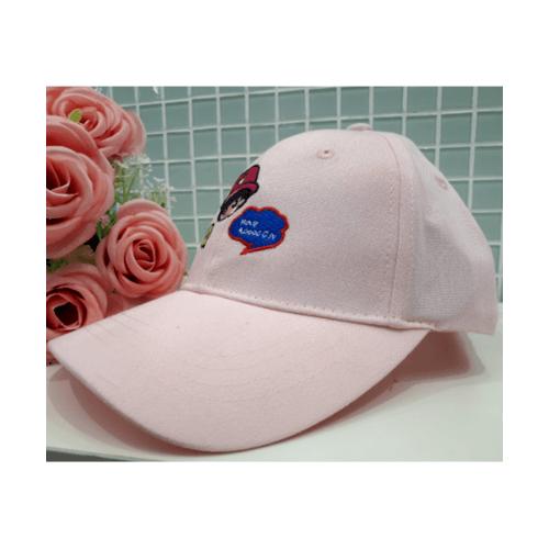 USUPSO หมวกแก๊ปเด็กผู้หญฺิง - สีชมพู