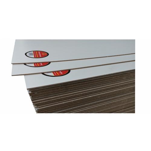 GREAT WOOD ไม้อัด MDF ปิดผิวเมลามีน ขนาด 120x240ซม. (ลายไม้) MWE-001 #3 สีขาว
