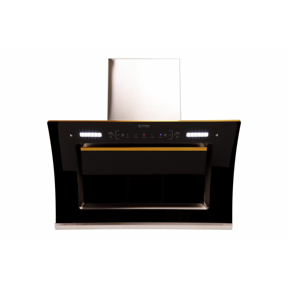 Koch Kitchen  เครื่องดูดควันติดผนัง 90 ซม. DE LUXO DE LUXO