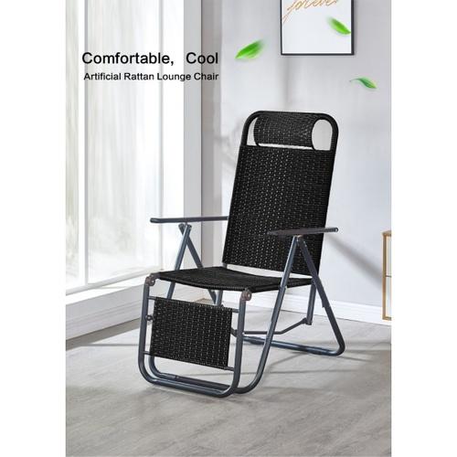 Pulito เก้าอี้พักผ่อนปรับเอนได้ ขนาด 58x152x40ซม. SHU-FU