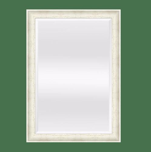 HERITAGE กระจกมีกรอบ ไม้ขาว  3179-815T