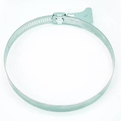 VAVO กิ๊ปรัดสายยางหางปลาก ขนาด 2-3/4นิ้ว - สีเงิน