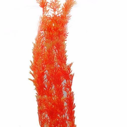 BOYU ต้นไม้เทียมประดับตู้ปลา สูงขนาด 20 นิ้ว  AP-071 แดง
