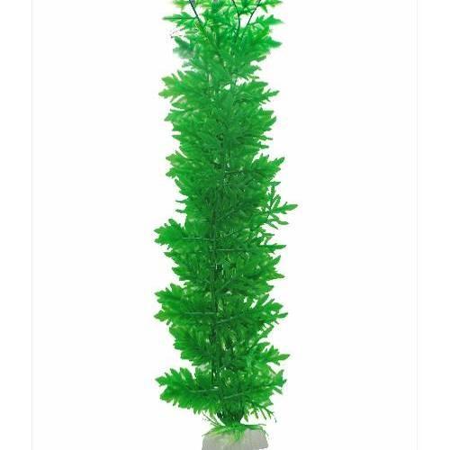 BOYU ต้นไม้เทียมประดับตู้ปลา สูงขนาด 20 นิ้ว AP088  เขียว