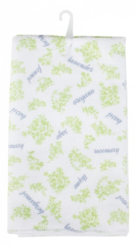 ICLEAN ผ้าเช็ดทำความสะอาด  5ชิ้น ขนาด 48x40x0.1ซม.คละสี พิมพ์ลาย  TG59748