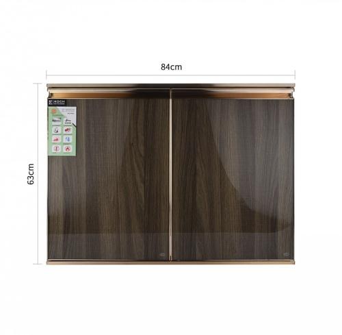Koch Kitchen  บานซิ้งค์คู่ใต้เตาแก๊ส ขนาด 84x52.5ซม. CLASSIC OAK-SDG สีโอ๊ค