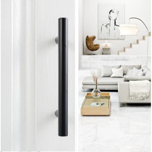 Torsten มือจับเฟอร์นิเจอร์สแตนเลส 201ขนาด  20x150x35มม.  6DJWJ016-1 สีดำ
