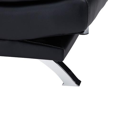 Pulito โซฟาปรับระดับ PU 3 ที่นั่ง ขนาด 190x86x96  Martin  สีดำ