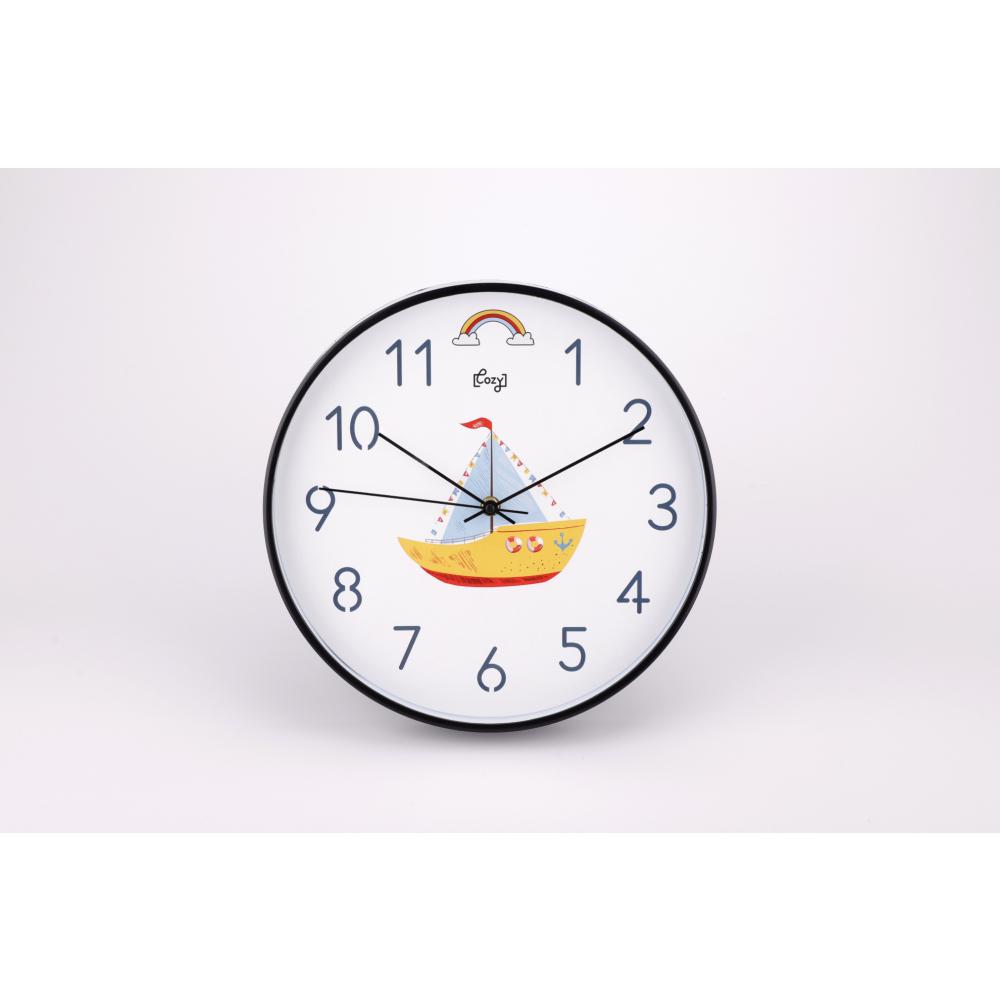 COZY นาฬิกาแขวนผนัง 30 ซม. 2DY-015 เรือใบ