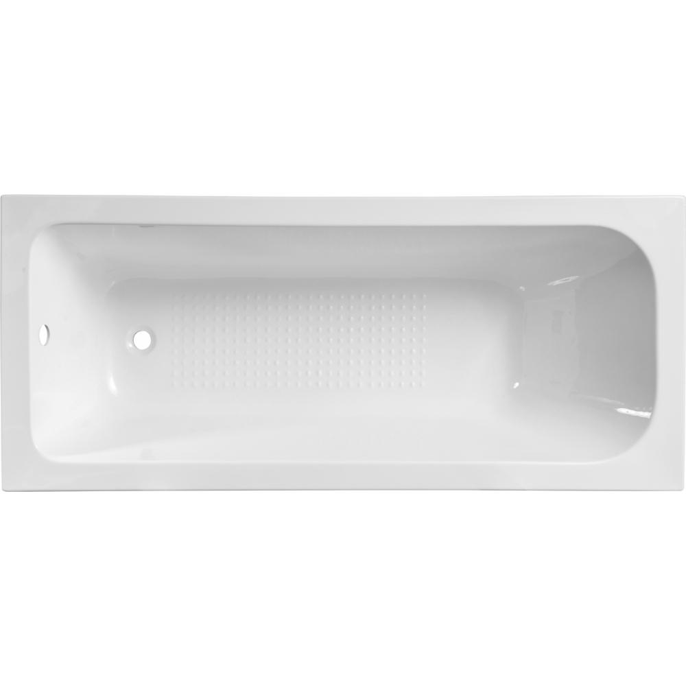 VERNO อ่างอาบน้ำพร้อมสะดือ ขนาด 1700X70X40mm  Asha1032 สีขาว