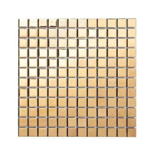 Marbella โมเสค 30x30x0.4 cm กรอลี่ M0306JS สีทอง