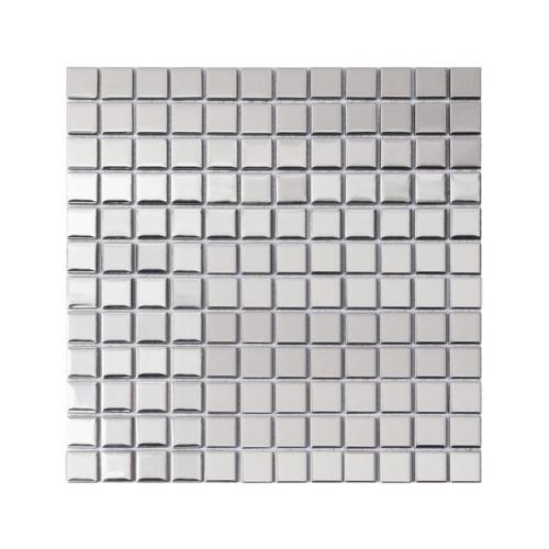 Marbella โมเสค 30x30x0.4 cm. กรอลี่ M0307JS สีเงิน