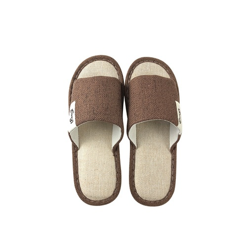 COZY  รองเท้าสลิปเปอร์แบบเปิดนิ้วเท้า  ขนาด NO.44-45   Nori TX08-BR  สีน้ำตาล
