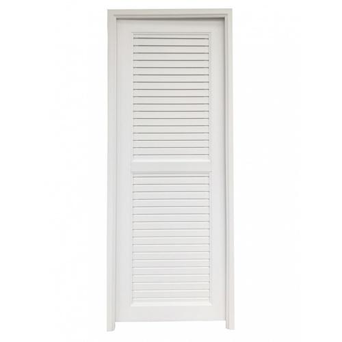 Wellingtan ประตู UPVC ขนาด 70x200 ซม. JM-005-WT  สีขาว