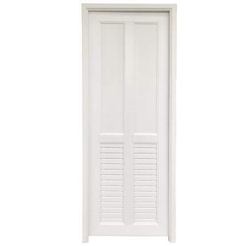 Wellingtan ประตู UPVC ขนาด 70x200ซม. JM-008-WT  สีขาว