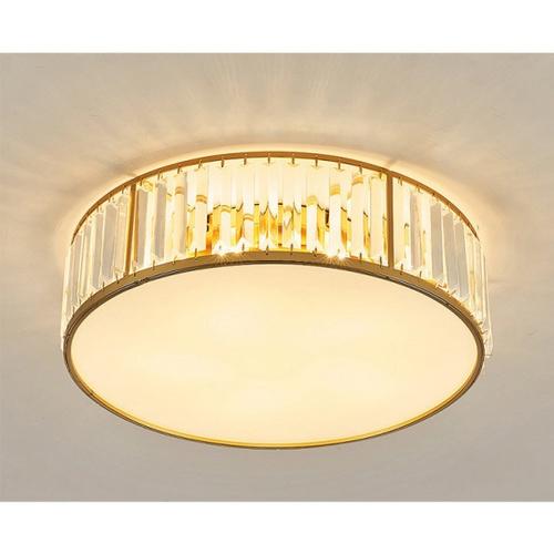 EILON โคมไฟเพดานคริสตัล 40W  ปรับได้ 3 แสง KDX2032/500 สีทอง