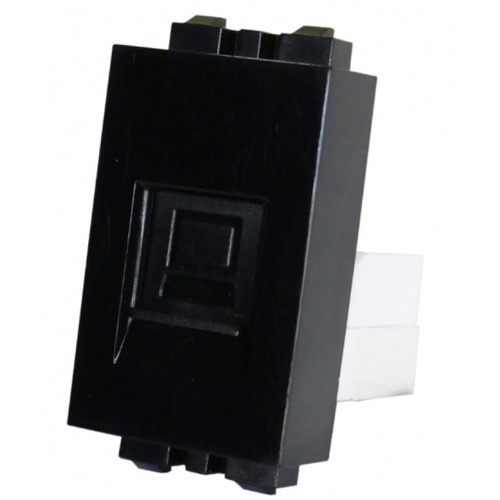 Gpower  เต้ารับคอมพิวเตอร์ LAN-1B สีดำ