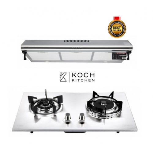 Koch Kitchen ชุดเซ็ตเครื่องดูดควันพร้อมเตาฝัง COQUINA02+Clasico  KH-05 HAPPINESS