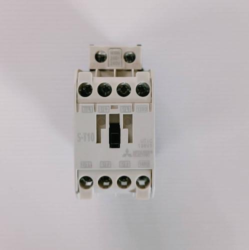 MITSUBICHI คอนแทคเตอร์ มิตซู ST10-220V ST10-220 สีเทาอ่อน