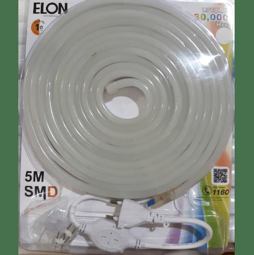 ELON แอลอีดีนีออน  เฟล็กซ์ 5 เมตร  สีขาว